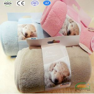 Indoor Comfortable Pet Blanket Fleece Dog Blanket pictures & photos