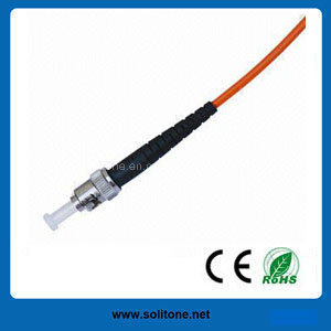 St Multimode Simplex Fiber Optic Patch Cord pictures & photos