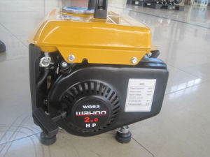 CE Approval 650W Portable Gasoline Generator (WH950) pictures & photos