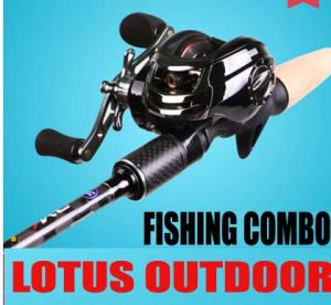 Fishing Rod Combo Black Fishing Rod Fishing Reel Fishing Tackle pictures & photos
