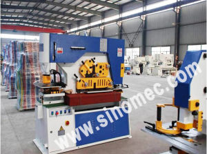 Hydraulic Iron Worker, Shearing and Punching Machine Q35y-16 pictures & photos
