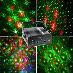 DJ Disco Low Power Equipment Mini Laser Light Projector