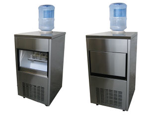 60kgs Self-Feed Cube Ice Machine for Food Progressing pictures & photos