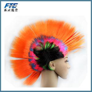 christmas Festival Rainbow Hair Wig pictures & photos