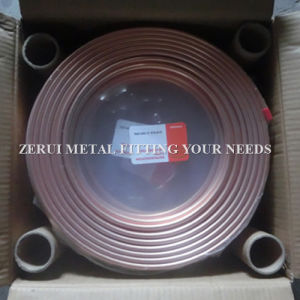 "1/2""X0.81 Type L Soft Annealed Pancake Coil Copper Tube pictures & photos"