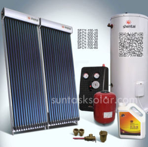 Suntak Heat Pipe Split Pressurized Solar Hot Water Heater Certified by Solar Keymark Sfcy-300-36 pictures & photos
