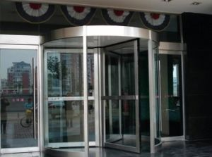 Full Glass Revolving Door System pictures & photos