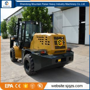 Ce Approved All Rough Terrain Forklift with Spare Parts pictures & photos
