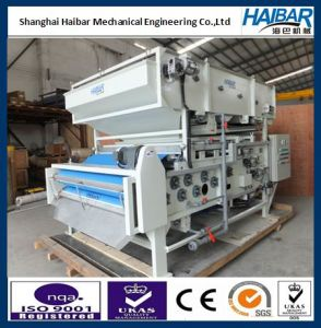 Automatic Gravity Belt Thickening Type Belt Filter Press for Biological Sewage Treatment