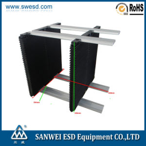 Conductive Plastic PCB ESD Circulation Rack (3W-9805402A) pictures & photos