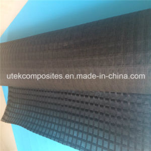 Asphalt Reinforcement Polyester Geogrid with Nonwoven Backing pictures & photos