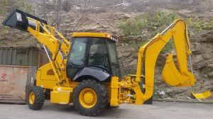 Mini Front and Backhoe Loader Wz30-25 with Low Price pictures & photos