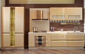 2017 Popular Lacquer& MDF Kitchen Cabinet (zz-062) pictures & photos