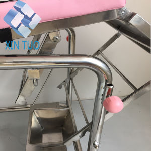 Factory Price Electric Hospital Examination Couch Gynecology Table pictures & photos