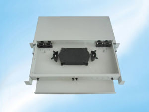 Rack Mount ODF Distribution Box 48 Core Patch Panel pictures & photos