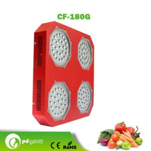 4 Cluster Full Spectrum LED Grow Lights for Indoor Hydroponics and Medical Plant Flowering