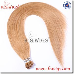 Hand Tied Human Hair Virgin Remy Hair Extensions pictures & photos