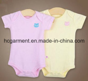 Newborn Cotton Short Sleeve Romper for Baby Girl/Boy, Baby Suit pictures & photos