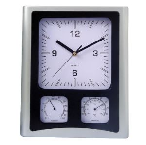 New Weather Station Wall Clocks with Temperture/Humidity (YZ-8981