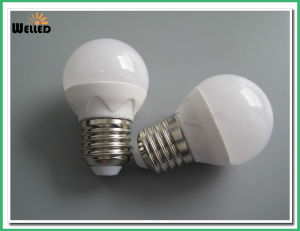 3W 5W Dimmable G45 Globe LED Bulb Light 400lm E27 B22 with Ceramic Housing pictures & photos