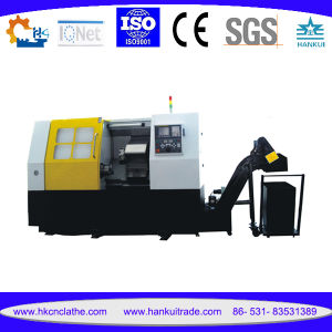 Ck80L Large Bore CNC Metal Cutting Slant Bed Lathes pictures & photos