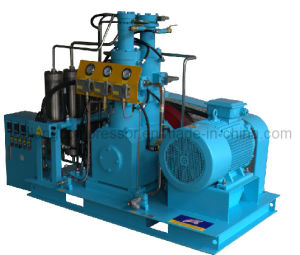 Oil Free Oilless High Pressure O2 Oxygen Helium Argon Nitrogen Hydrogen Pump Compressor Booster (gow-50/4-150) pictures & photos