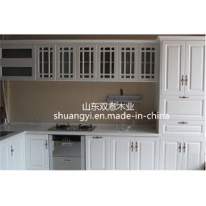 High Glossy White Lacquer Kitchen Cabinet for Sale pictures & photos