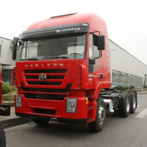 6X4 Cursor Engine 380HP Hongyan Tractor Truck for Sale pictures & photos
