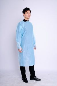 Operation Theatre Medical Disposable Surgical Isolation CPE Gown pictures & photos