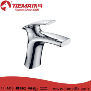 New Design Polished Brass Body Chrome Bathroom Brass Basin Faucet (ZS41603A) pictures & photos
