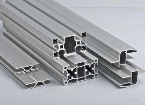 Aluminum Fence Aluminium Framework Extrusion Profile pictures & photos