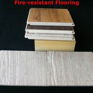 WPC Laminated Flooring Fire Resistant Flooring WPC Interior Board Strong Durable and Healthy pictures & photos