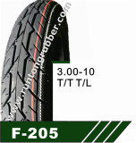 Factory Motorcycle Tire / Scooter Tire 3.00-10 T/T T/L pictures & photos