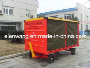 Paint Baggage Cart with Canopy Waterproof pictures & photos