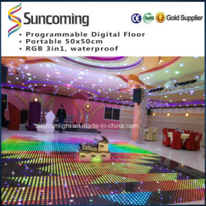 P62.5 Slim and Portable Buy LED Dance Floor pictures & photos