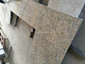 Giallo Santa Cecilia Granite Countertops for Bathroom or Kitchen pictures & photos