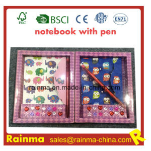 Stationery Notebook in Paper Box Packing pictures & photos