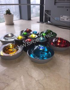 50 100mm Glass Road Stud Cat Eye Reflector pictures & photos