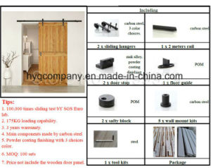 Wooden Sliding Barn Door Hardware Tack System Door Hardware pictures & photos