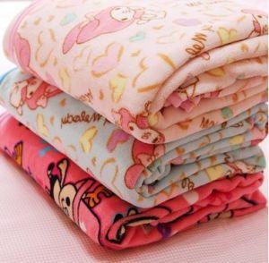 Children Coral Fleece Bedding Set: Cartoon Blanket and Pillowcase pictures & photos
