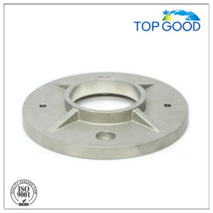 Stainless Steel Casting Baluster and Staircase Post Anchor Base Plate (31020) pictures & photos