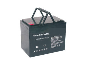 12V 75ah Deepcycle Series Lead Acid Battery