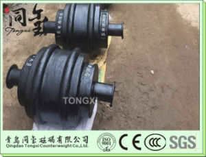 Bridge Gantry Crane Lifting Weight Limiter Cast Iron Weight for Crane pictures & photos