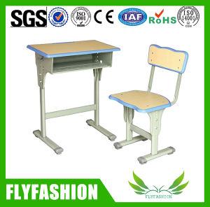 Popular School Calssroom Furniture Single Desk and Chair (SF-45S) pictures & photos
