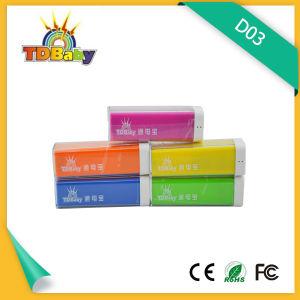 2000mAh Lipstick Phone Accessory Power Bank (D03)