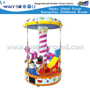 Simple Merry-Go-Round with 3 Seats Electric Carousel (HD-10804) pictures & photos