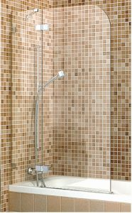 Single Shower Screen Shower Panel on Bath Tub pictures & photos