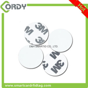 Small Cheap printing rewritable disc NFC tag label sticker pictures & photos