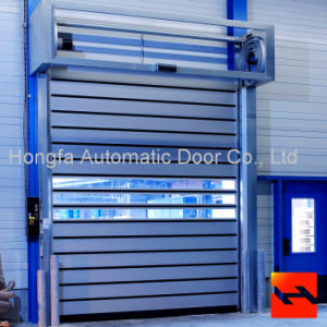 Aluminium High Performance Ragid Fast Shutter Door (HF-1041) pictures & photos