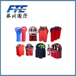 Six Pack Can Cooler in Neoprene Material pictures & photos